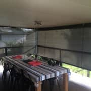 Exterior Roller Blinds provide privacy and UV protection