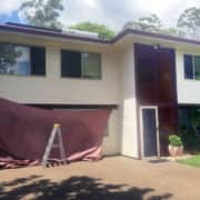 MJSails Shade Sails Brisbane Residential Carport Shade Sail Upgrade 001
