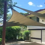MJSails Shade Sails Brisbane Residential Carport Shade Sail Upgrade 004