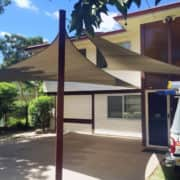 MJSails Shade Sails Brisbane Residential Carport Shade Sail Upgrade 005