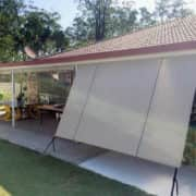 MJSails Shade Sails Brisbane Residential Rope and Pulley Shade Cloth Blind / Awning 001