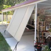 MJSails Shade Sails Brisbane Residential Rope and Pulley Shade Cloth Blind / Awning 002