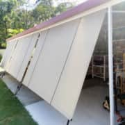 MJSails Shade Sails Brisbane Residential Rope and Pulley Shade Cloth Blind / Awning 003